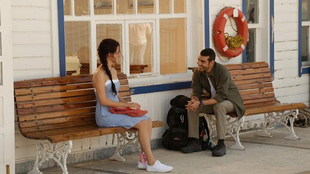 KADIN turkich DRAMA sarp and bahar together
