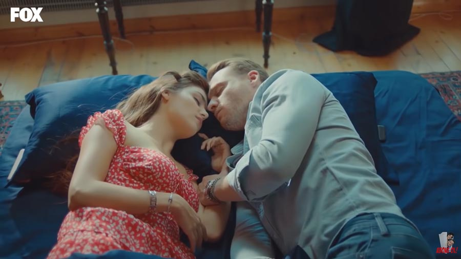 love is in the air episode 9 serkan and eda sleep together